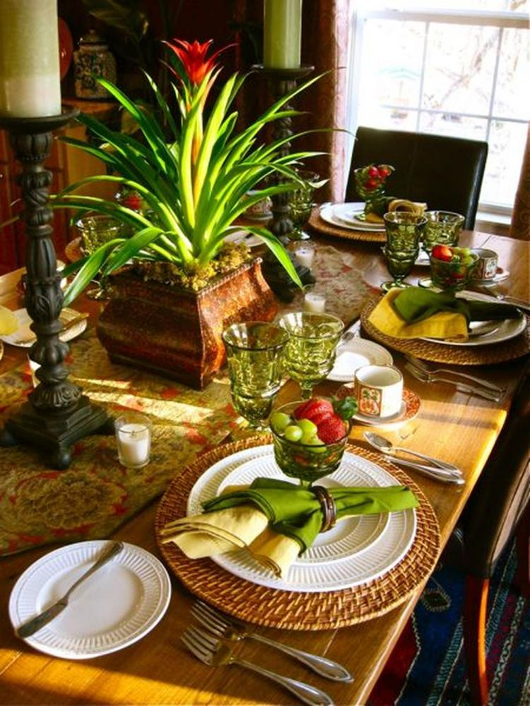 24+ Awesome Spring Dining Room Table Centerpiece Ideas ...