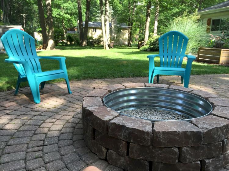 33+ Simple DIY Fire Pit Ideas for Backyard Landscaping ...