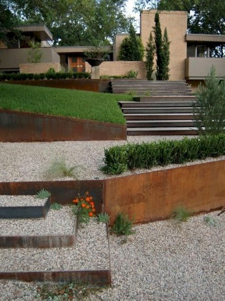23+ Cool Modern Front Yard Landscaping Ideas - Page 17 of 24