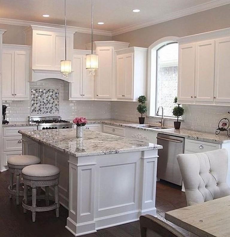 Kitchen Cabinet Ideas 2018: 70 Beautiful Farmhouse Kitchen Cabinet Makeover Ideas