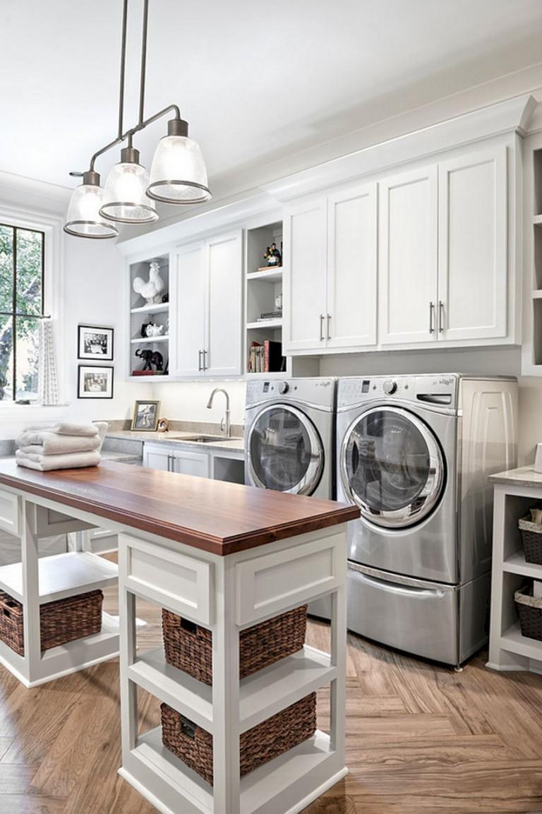 25+ Nice Modern Farmhouse Laundry Room Design Ideas - Page ...